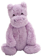 "Jellycat Bashful Hippo Medium (12"")"