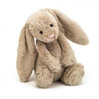 "Jellycat Bashful Bunny Medium - Beige (12"")"
