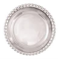 Mariposa Blank Wine Plate