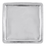 Mariposa Beaded Luncheon Napkin Tray - Blank