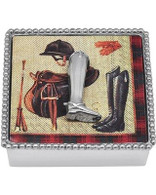 Mariposa Boot Beaded Napkin Box
