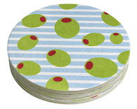Mariposa Olives Coaster Refill Pack of 12