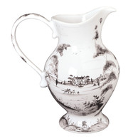 Juliska Country Estate Delft Blue Large Footed Pitcher