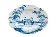Juliska Country Estate Delft Blue Large Serving Platter