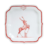Juliska Reindeer Games Party Plate - Prancer