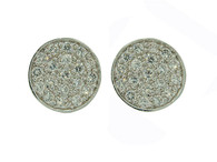 Samantha Silver Stud Earrings (6291)