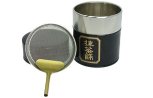 Matcha Strainer Tin | Dominion Tea