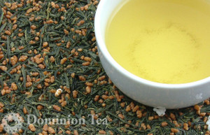Genmaicha Organic - Loose Leaf and Liquor | Dominion Tea