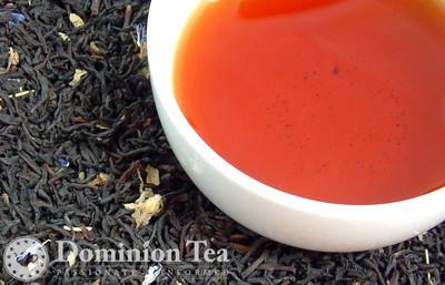Blackcurrant Tea - Loose Leaf and Liquor | Dominion Tea
