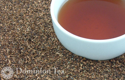 Dulce de Leche Tisane Dry Leaf and Liquor