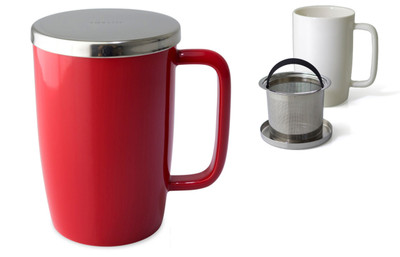 Dew Mug-18oz Red