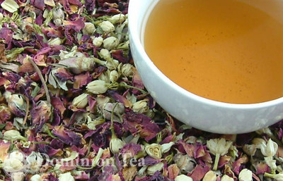 Moroccan Nights tea and liquor.
