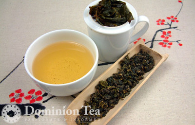 Alishan High Moutain Oolong - Loose Leaf and Liquor