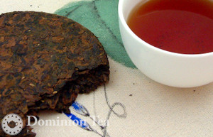 Gaba Oolong Tea Cake and Infusion