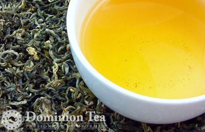 White Monkey Tea Dry Leaf and Liquor