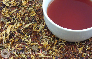 Adirondack Berries Tea Dry Leaf and Liquor