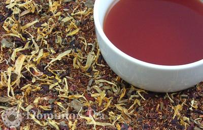 Adirondack Berries Tea Dry Leaf and Liquor