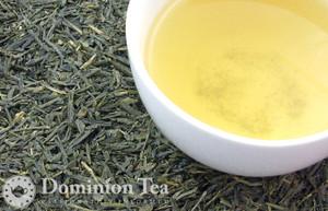 Bancha Tea Dry Leaf and Liquor