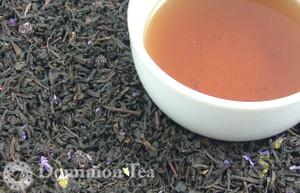 Shenandoah Blue Tea Dry Leaf and Liquor