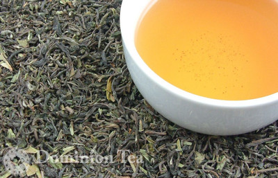 Goomtee Estate 1st Flush Tea Dry Leaf and Liquor
