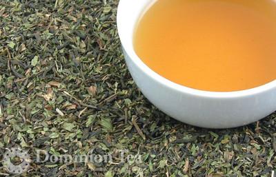 Moroccan Mint Dry Leaf and Liquor