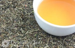 2014 First Flush Darjeeling, Singell Estate - Dry Leaf and Liquor | Dominion Tea