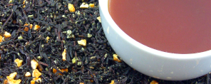 Orange Popsicle Tea - Orange and Chocolate Flavored Tea