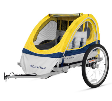 Schwinn Echo Double Bike Trailer Instep