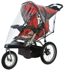 Weathershield for Single Swivel Wheel Stroller