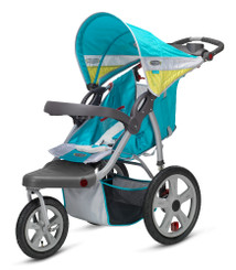 Grand Safari Swivel Wheel Jogger - Teal