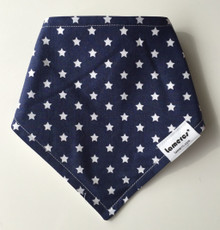 Dark Blue Star Bandana