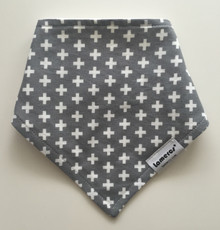 Grey Cross Bandana
