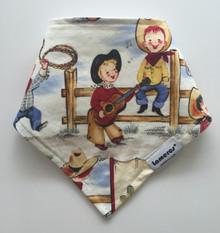 Vintage Cowboy Bandana