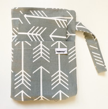 Grey Arrow Changing Bag