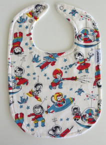 Retro Space Long bib
