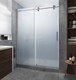 LANGHAM XL Brushed Stainless Steel Finish with Ultra-Bright Frosted Glass