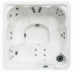 HT642W 6-Person Hot Tub with Built-In Lounger and 30 Jets