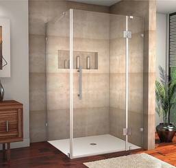 SEN987 AVALUX Completely Frameless Square | Rectangular Shower Enclosure