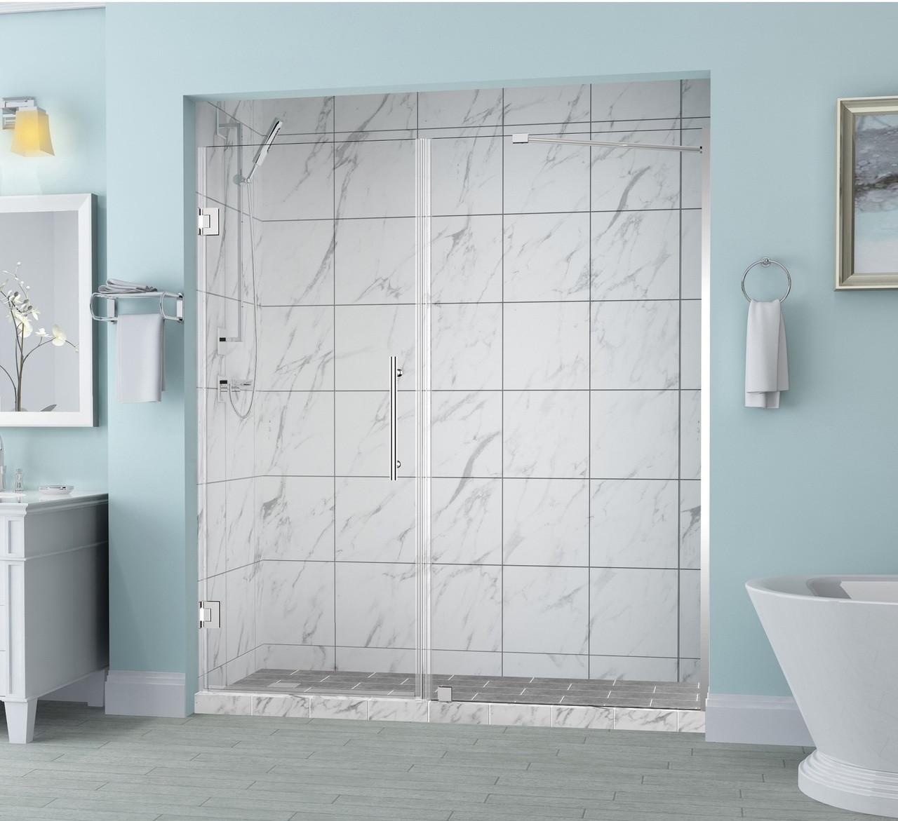 Sdr965 Belmore Frameless Hinged Shower Door With Starcast