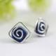 blue howlite gemstone