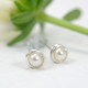white freshwater pearl