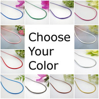 Satin necklace cords 13-36 inches