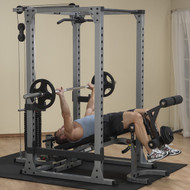 Body Solid Pro Power Rack System w/Bench