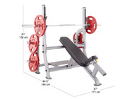 SteelFlex Olympic Incline Bench