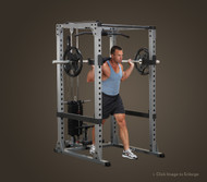 Body Solid Pro Power Rack Garage Gym