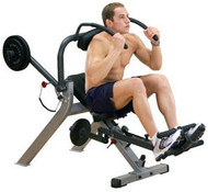 Body-Solid Semi-Recumbent Ab Bench GAB300
