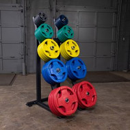 Body Solid GWT76 High Capacity Olympic Plate Rack