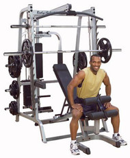 Body-Solid Series 7 Smith Gym System w/255# Olympic Grip Plates
