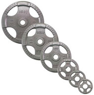 Body-Solid 255# Hand Grip Olympic Plates OST255
