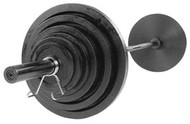 Body-Solid 300# Olympic Weight Set OSB300S